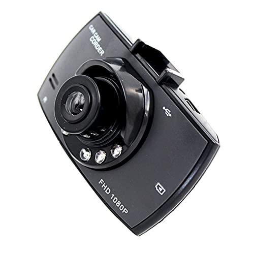 G30 Bare Metal G30 Alta definición 1080P Grabadora de conducción Luz mate Visión nocturna Accesorios automáticamente esenciales - Negro