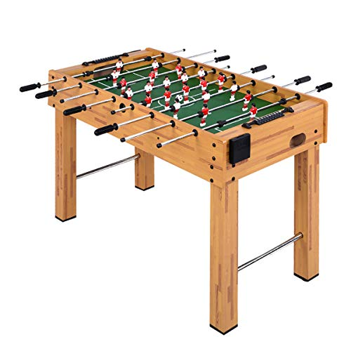 Goplus 48' Foosball Table, Easy-Assemble Soccer Game Table...