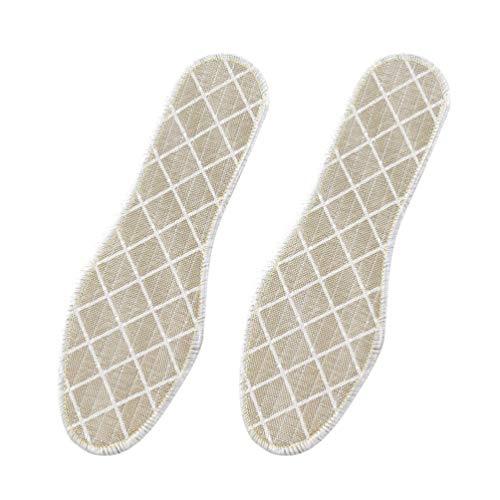 EXCEART 3 Pares de Plantillas de Carbón de Bambú Desodorante Zapatos Cojines de Absorción de Sudor Plantillas Cómodas Cuidado de Los Pies Plantillas Deportivas Almohadillas de Calzado