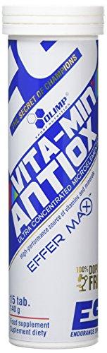 Olimp Labs Vita-Min AntiOX Effervescent Tablets, Orange, 15 Count (Pack of 15)