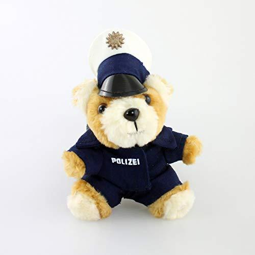 Polizei Teddy-Schlüsselanhänger