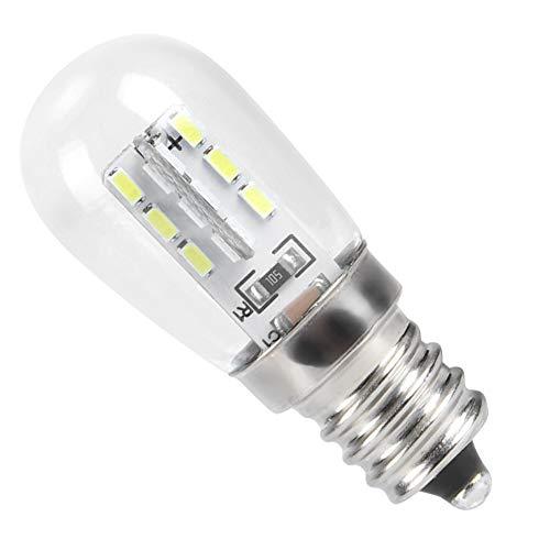 Rodipu Lámpara para máquina de Coser, fácil de Instalar, Ahorro de energía, protección del Medio Ambiente, Bombilla LED para Nevera, para máquina de Coser, luz led, Bombilla LED, Bombilla