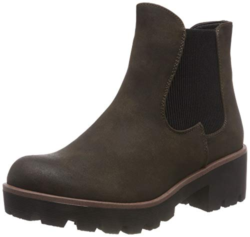 Rieker Damen 99254 Chelsea Boots, Grün (Schilf 54), 39 EU