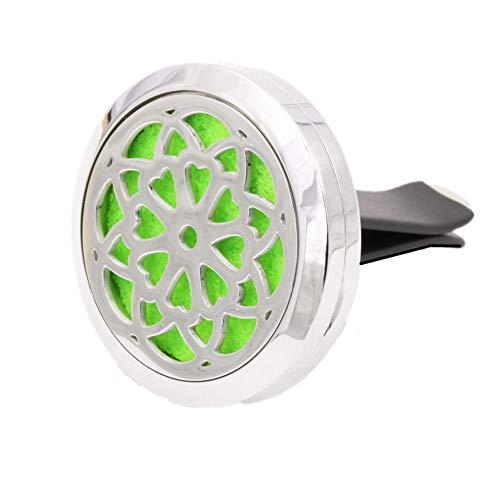 huihuijia Ambientadores Coche Ambientador Coche Olor Nuevo Clip de Perfume de autopartes Clip de ambientador de Salida de Aire