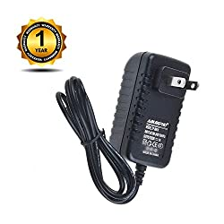 ABLEGRID 6V AC/DC Adapter for Sharper Image Design Sound Soother Alarm Clock Radio 6VDC Power Supply Cord Cable PS Charger Input: 100-240 VAC 50/60Hz Worldwide Voltage Use PSU
