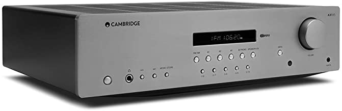 Cambridge Audio AXR85 85 Watt Stereo Receiver with Bluetooth | Built-in Phono, 3.5mm Input, AM/FM with RDS