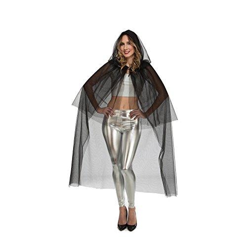Viving Costumes Viving Costumes204061 Tulle Cape Taille Unique (M/L)