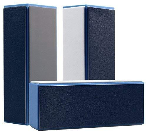 bester der welt Set mit 3 professionellen blauen EuBeCos-Polierblöcken Hohe Qualität! 2020