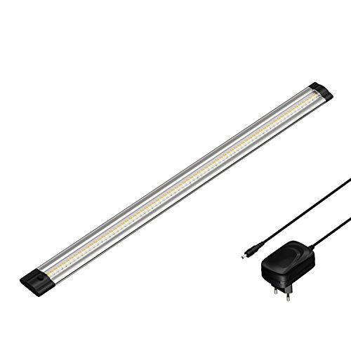 parlat LED Unterbau-Leuchte SIRIS mit Netzteil, flach, 50cm, 500lm, warm-weiß