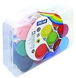 MILAN 03212 - Pack de 12 témperas, Multicolor, 40 ml