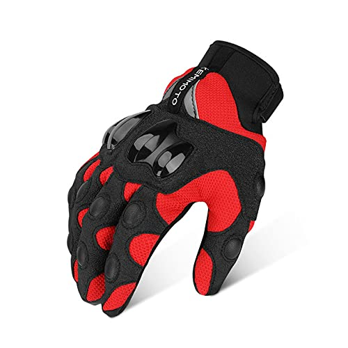 Summer Motorcycle Gloves Touch Screen Protective Guantes Moto Motocross Gloves Man Women Guanti Moto-a11-L