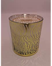 Candle with French perfume scent, height 9 cm, diameter 7 cm
