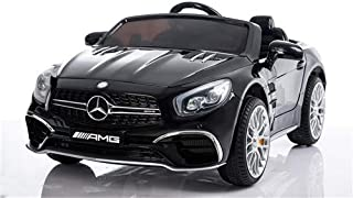 TAMCO Licensed Mercedes Benz SL65 Ride On Car for Children, Key Start, MP3 Function,2 Doors, 2 Speed with Remote Control