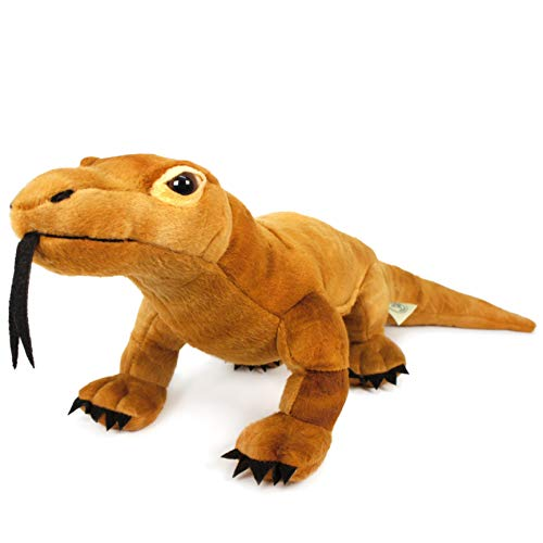 Kusumo The Komodo Dragon - 17 Inch Stuffed Animal Plush Monitor Lizard - by Tiger Tale Toys