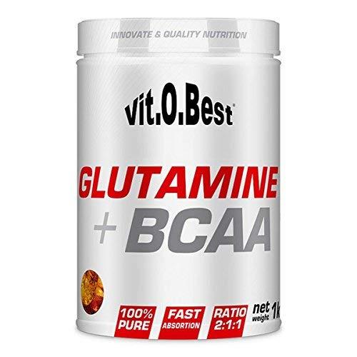GLUTAMINE + BCAA - Vitobest - Suplementos Alimentación y Suplementos Deportivos- Vitobest (Limón, 1000g)
