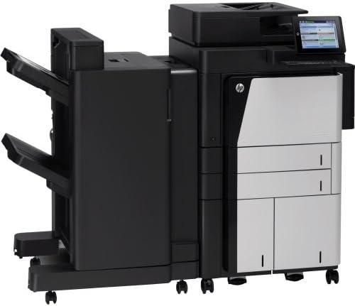 Hewlett-Packard - Hp Laserjet M830z Laser Multifunction Printer - Monochrome - Plain Paper Print - Floor Standing - Copier/Fax/Printer/Scanner - 55 Ppm Mono Print - 1200 Dpi Print - 55 Cpm Mono Copy - Touchscreen Lcd - 600 Dpi Optical Scan - Automatic Dup