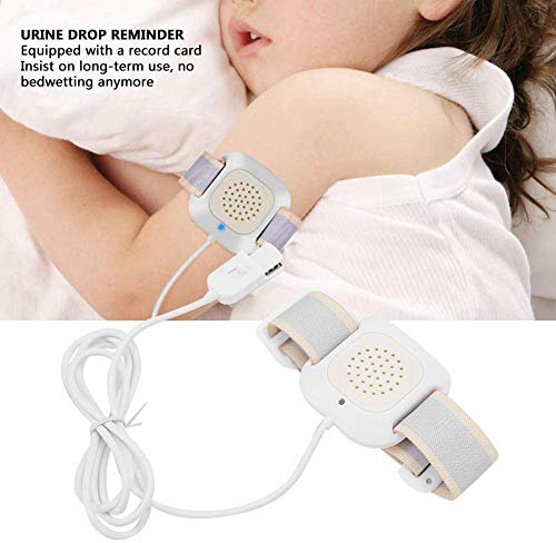 JIN Sensor Monitor Bedwetting Moisture Sensor with Sound and Vibration Bedwetting Alarm for Children, Teens Adults and Deep Sleepers