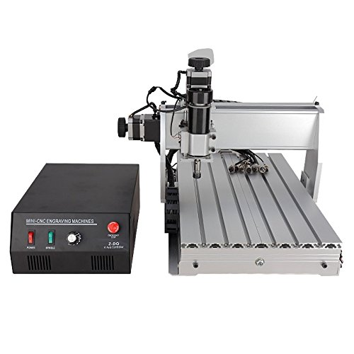 CNC 3040 Z-DQ 3-axis CNC Router Engraver Ball Screw Cutting Milling...