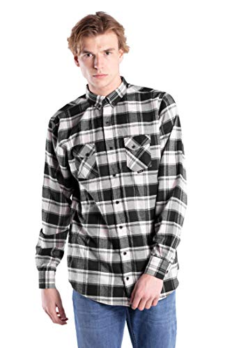Reell Check Shirt AW18, Black/White M Artikel-Nr.1302-032 - 02-005