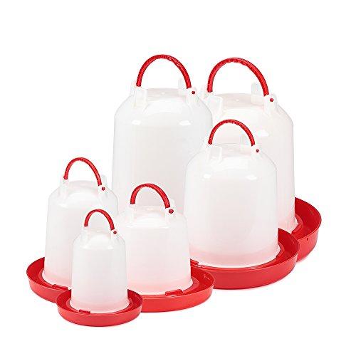 15 Liter Kunststoff Stülptränke Hühnertränke Trinknapf Geflügeltränkeeimer - 4