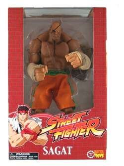 Street Fighter Rotocast Figure Sagat by Capcom