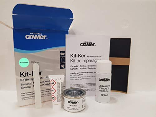 kit reparacion bañera y sanitario CRAMER KIT-KER COLOR AGUAMAR