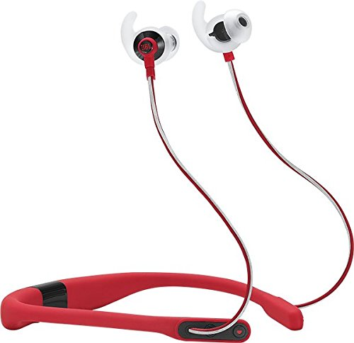 JBL REFFITRED Reflect Fit in-Ear Wireless Headphones with Heart-Rate Monitor (Red)