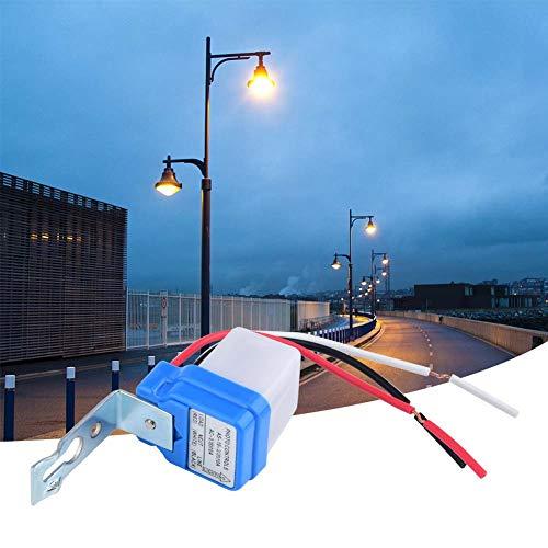 Interruptor de control de luz Interruptor de lámpara al aire libre de menor consumo de energía, para jardín(220V)