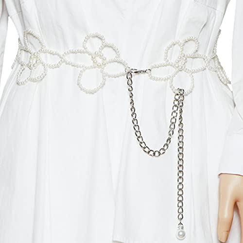 zoylink women waist belt flower