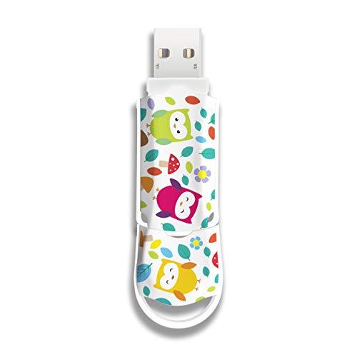 Integral Xpression Owls - 64GB USB Flash Drive