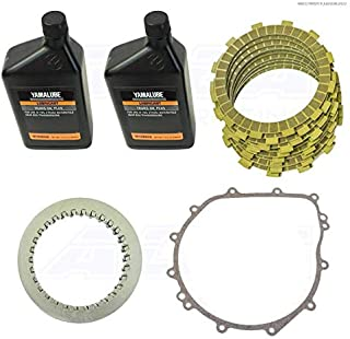 Yamaha YXZ 1000 SS Heavy Duty Clutch Kit with Gasket and Oil Alba Racing Does NOT fit standard shift models