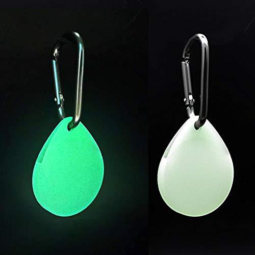 Lalone Silikonhülle kompatibel für Airtags, Silikon Schutzhülle mit Schlüsselanhänger, Anti Lost Schutzhülle, stoßfest & unzerbrechlich, Leuchtend