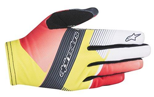 Alpinestars pour Homme F-Lite Gants de Profondeur L Red/White/Acid Yellow
