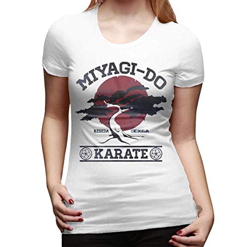 Karate Kid Miyagi Do Camiseta básica de Manga Corta para Mujer