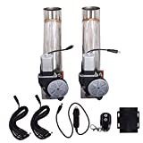 WFLNHB Pack of 2 2.5 inch Electric Exhaust Catback Cutout Valve W/Controller Remote Kit E-Cut