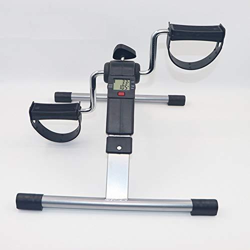 LSSLA Pedaltrainer LCD-Pedaltrainer Kleines Heimtrainer Fitnessstudio Fitness Bein Und Herz Training Männer Und Frauen Verstellbare Pedal Pedal Trainer