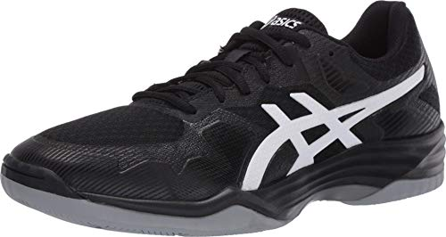 ASICS Men's Gel-Tactic 2 Training Shoes, 10.5M, Black/White