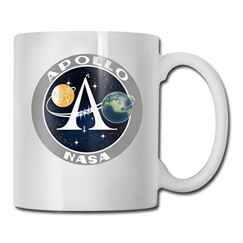 Apollo 11 50. Jahrestag einzigartige Keramik Neuheit Urlaub Weihnachten handgefertigte Tassen für Männer und Frauen Teebecher Kaffeetassen