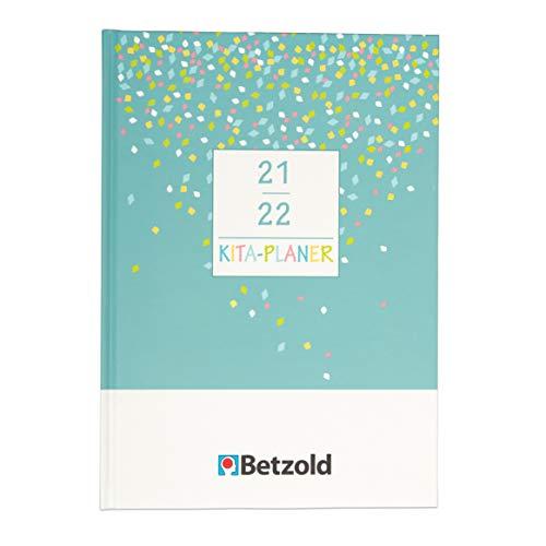 Betzold 757494 - Kita-Planer 2021/2022, Hardcover - Jahresplaner Kita-Kalender