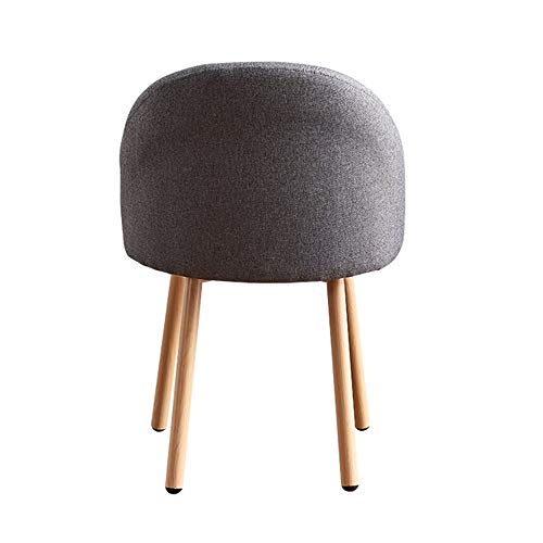 Creatieve eenvoudige manier voor eetkamerstoelen, nieuwe vrijetijdsstoel, stoffen aanzet voor bureaustoelen.
