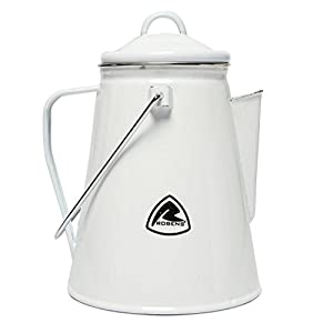Robens White River Kettle 3L Camping Stainless Steel Dual Handle Camping Kettle