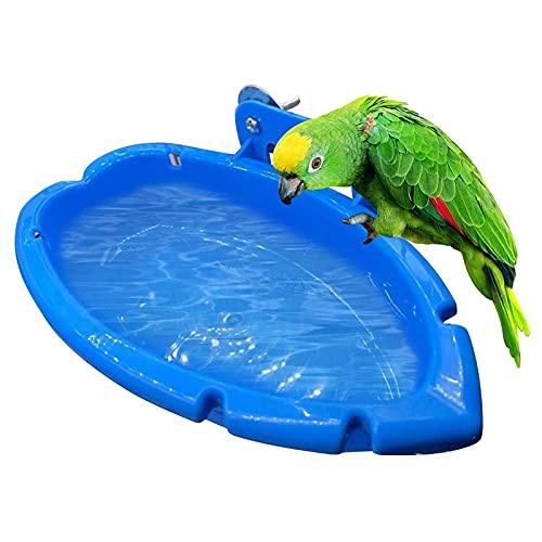 Aves De Bañera Colgante Pequeño Loro Ducha Baño Bañera De Aves Para Los Loros Ducha Jaula De Pájaros Pequeños Accesorios Baño Del Para Las Aves Loros Periquitos La Jaula De Pájaros Accesorios De Ducha