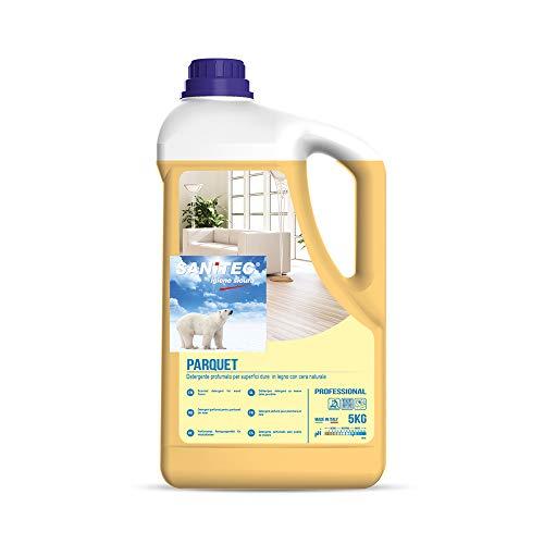 Parquet - Detergente profumato per Superfici Dure in Legno con Cera Naturale - 5 kg