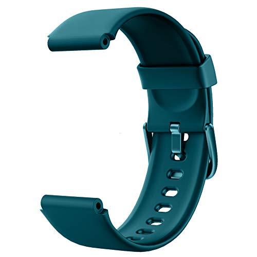 YONMIG Smartwatch Pulsera de Correa de Repuesto 205L (Azul)