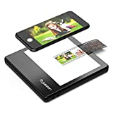 Rybozen Ultra-Thin Portable Slide Scanner 5 x 4 Inches LED Light Panel,Photo Slides Negatives and Film Viewer,USB Powered
