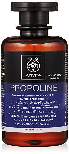 Apivita Shampooing tonifiant antichute pour homme Lupin et Romero, 250 ml