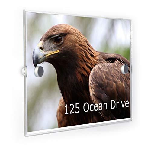 Premium Home Plaques Plaque numéro de Maison Golden Eagle