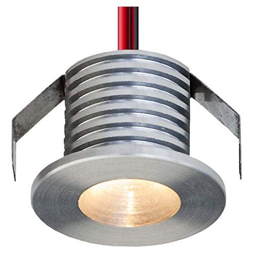 EVN Lichttechnik–p-led Einbauleuchte Point P 100102ESD 350mA 1W 3000K Einbaustrahler