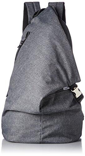 [レジスタ] トライアングル リュックサック タブレットポケット付き メンズ レディース 三角リュック グレー