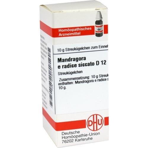 MANDRAGORA E RADICE SIC. D 12 Globuli 10 g